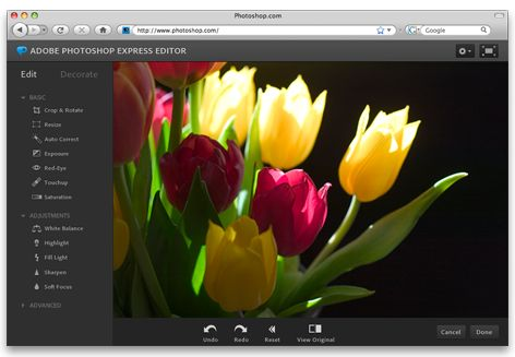 programas editar fotos photoshop express